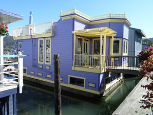 Sausalito houseboat Community - 78