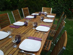 Salons De Jardin En Acacia Le Blog De Lignes Et