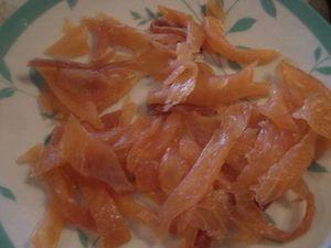 On mange quoi demain d me de poireaux au saumon fum le blog de jo lle - Quand repiquer les poireaux ...