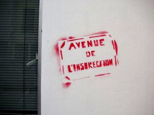 avenue de l'insurrection