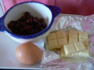 Biscuit aux griottines de Fougerolles