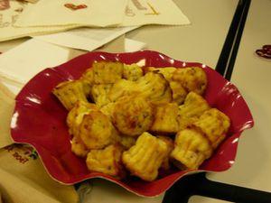 canlés fromage jambon