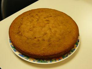 gâteau au pastis d'isa