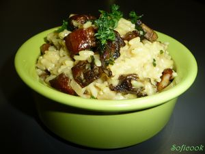 risotto cépes 2