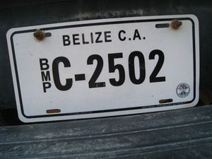 Belize 1645