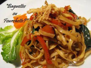 nouilles sautées légumes1