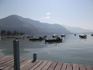 ANNECY lac barques2