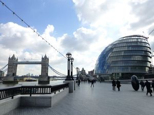 London City Hall & Tower bridge