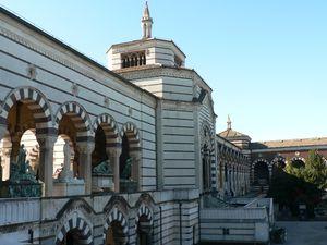ITALIE 11 - MILAN Cimetière monumental 06