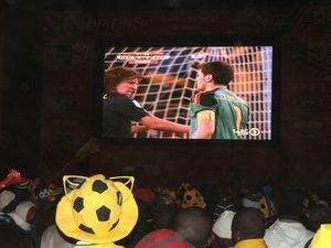 Dernier rendez-vous au Fan Park de Soweto... - Pierrick Lieben 2010