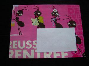 Enveloppe fourmis