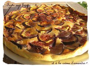 Tarte à la crème d'amande et aux figues (2)