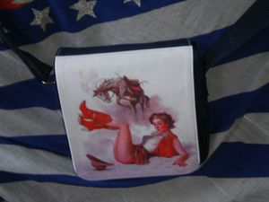 SAC BANDOULIERE JEANS