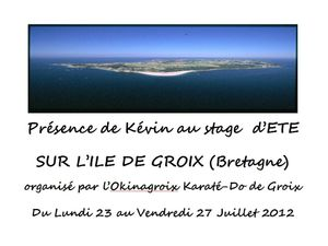 Stage Groix 2012