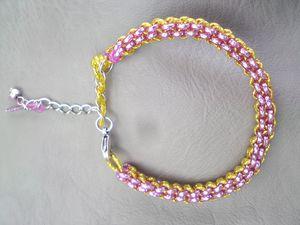 Scoubidou bracelet (3)