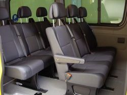 Interieur camion voyager 9