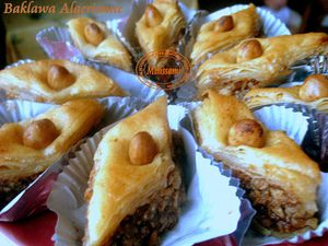 baqlawa algerienne