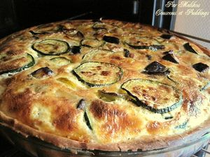 quiche a la ratatouille