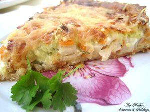 tarte au surimi moutarde et courgettes-copie-1