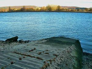 Bardouville cale passage d'eau