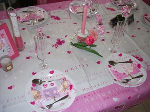 table Hello Kitty 026