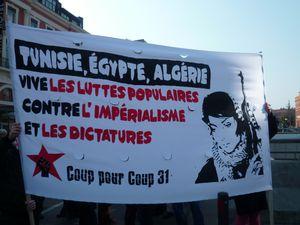 Soutien au peuple algérien