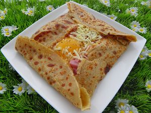 crepe au sarrasin farcies a l oeuf jambon fromage thermomix cuisine thermomix avec