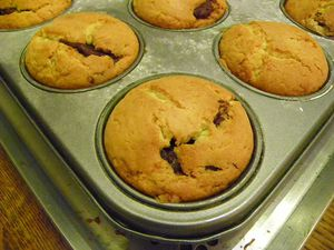 MUFFIN NUTELLA 9
