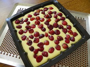 Gateau cerise thermomix