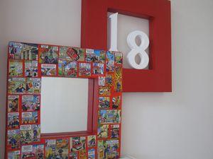 Tuto miroir en carton le blog de for Miroir adhesif a decouper