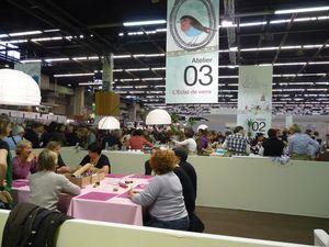 Salon cr ations et savoir faire 2010 les broderies de goupette - Salon creation et savoir faire ...