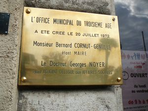 plaque georges noyer