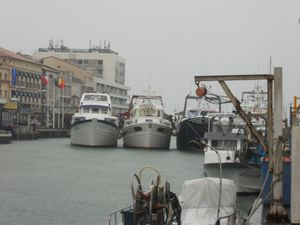 Photo pêche port bloqué 2