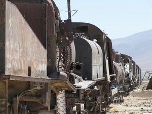 Cimetière de train Uyuni 25