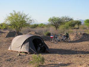 5ème campement avant Valle Fertil 1