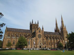 Sydney St Mary's cathedral 9