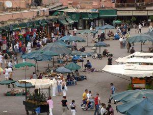 Place Jemaa El Fnaa, Marrakech
