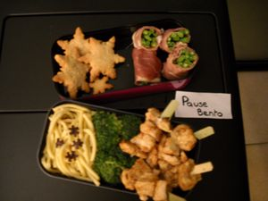Bento Christmas touch