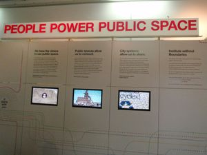 People POWER Public Space Institute Without Boundaries
