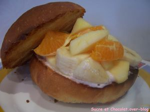 burger sucré salade de fruit (2)