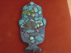 hamsa mosaque poisson