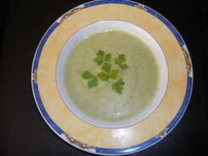 veloute courgettes