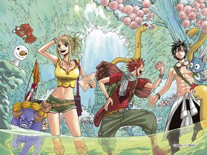 Lecture En Ligne De Fairy Tail Anime Land Fairy Tail