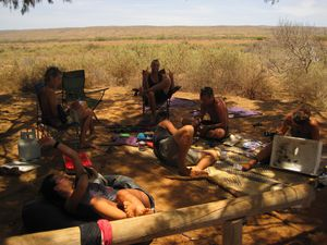 chill out Ningaloo park