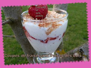 Fruits en verrine
