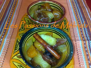 tajine fruits secs