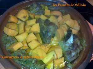tajine agneau-patates douces