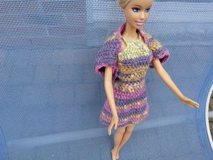 libellule barbie robe multi B