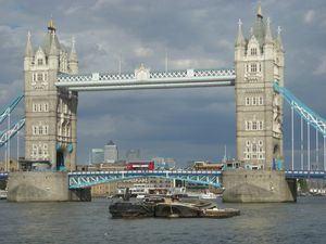 Tower Bridge et ses couleurs