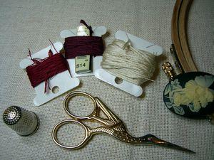 fils coton mouliné